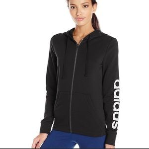 Adidas Full Zip Up Hoodie Jacket S97076 Size S